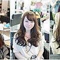 [長髮客人髮型]每日更新 流行顯白髮色 蓬鬆捲度 每日更新