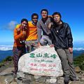 2008.10.9~12雪山攻頂行