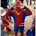 【Antonio's 09年萬聖節】永遠的SpiderMan