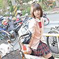 20160305 [台中]郁米莉:日系JK制服