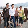 Friends' visit in Taiwan