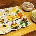 聯安健康廚房五彩蔬食九宮格套餐