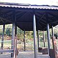 台中大坑體能運動區景觀 木結構 涼亭平台膠合樑眺望台設施