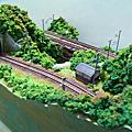 4號場景~白瀑.木橋.鐵道行