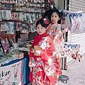 【Lingo image 日本寫真】奈良櫻花季-家庭旅遊和服寫真