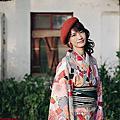 【Lingo 日雜風和服寫真】秋の和服初體驗。桃園外拍