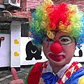 2014-05-10飛駝社區-母親節園遊會「小丑折造型氣球」