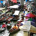 [Bangkok]Dammnoen Saduak Floating Market(丹能莎朵水上市場)