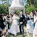 2016.12.24婚禮-戶外儀式