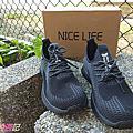 【Nice Life】最潮鋼鐵鞋 照顧你每一年丨彩黑輕透鋼鐵防滑鞋