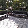 車阻柱&公共空間的椅子