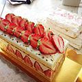 |烘培課/中級| 吃著法式草莓蛋糕賞櫻,一整個好春天
