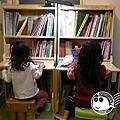 兒童書櫃桌