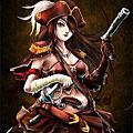 海盜女船長
