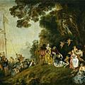 洛可可時期 Jean-Antoine Watteau 華鐸
