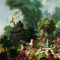 洛可可時期 Jean-Honore Fragonard 福拉哥納爾