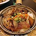 飯桶皇朝-臘腸叉燒煲仔飯