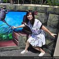 20170917台中遊(一)石崗。九房童話世界3D彩繪