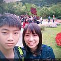 20180406台北遊(中)士林區。士林官邸賞玫瑰花展