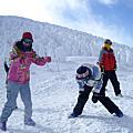 藏王冰原滑雪記