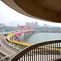 第1306篇[新北八里]關渡大橋景觀樓X台灣景點導覽|New Taipei Bali Guandu Bridge Observation Platform