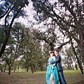 高雄婚紗照:森林系風格