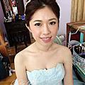 新娘秘書_Bride Karie_bridal hair and makeup