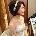 新娘秘書_Bride Jackie_bridal hair and makeup