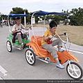 無障礙小旅遊-2011/9/25八里左岸騎腳踏車