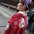 104-02-15 京都和服+優佳雅咖啡+花見小路通