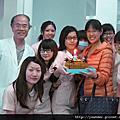 蕭醫師第一次在祐徳過生日2012.12.19