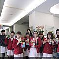 2014耶誕節快樂!新進助理感控訓練+2014.12.05蕭醫師王醫師生日慶祝+雷射教學記錄