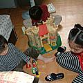 971122佳宜與兄姐第一次參觀古典高級住宅