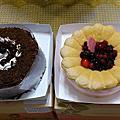 2012年母親節(康華飯店香榭廳+星巴克蛋糕)