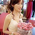 筱婷訂婚 新秘 金門餐廳 造型師 新娘秘書
