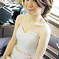 靜怡結婚 新秘 山頂會館 造型師 新娘秘書