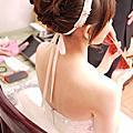 書瑜訂結婚 新秘 左邊婚紗 造型師 品華會館 新娘秘書