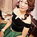 雪安結婚 新秘 造型師 山頂會館 新娘秘書