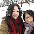 2014北海道day1.旭川機場、拉麵村、雪的美術館、層雲峽