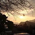 特富野部落夕陽....2009年1月份
