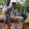 1050501社區打掃活動;下雨天刷刷刷;謝謝各位!!