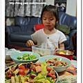 雙寶限定凱撒水果生菜沙拉
