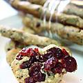 蔓越莓造型雜糧餅乾