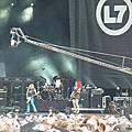 L7演唱會in Hellfest