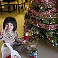 小花3Y1M佈置聖誕樹
