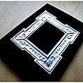 手工書 -絨布花框本