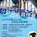 102年 arena 愛銳盃游泳錦標賽