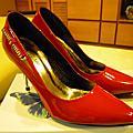 9809紅咚咚+閃亮亮好命新娘鞋