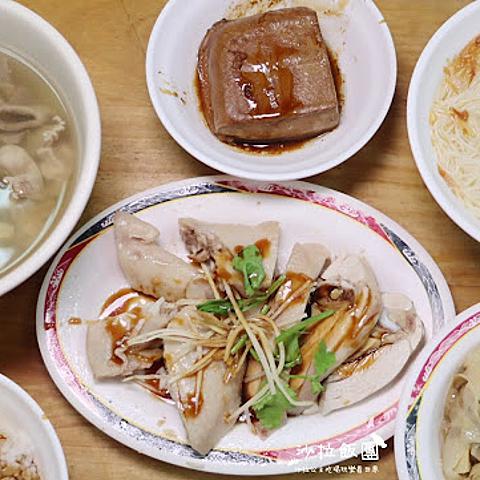 中山區吉林路人氣小吃『山雞王』好吃雞肉