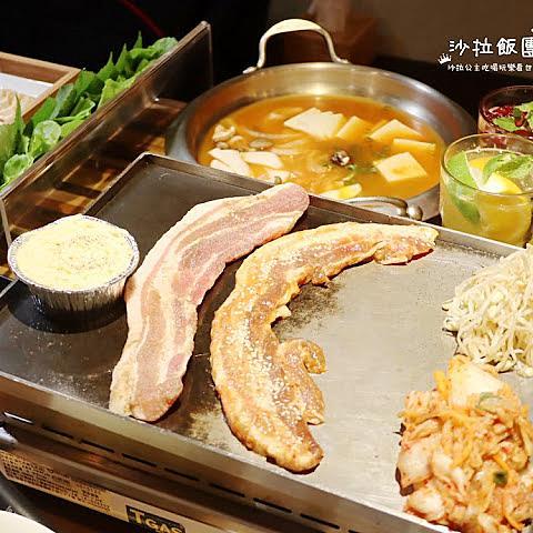 台北韓式燒肉『VEGE TEJI YA菜豚屋(林森店)』生菜吃到飽/七條通
